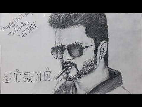 Omg Vijay S Character Sketch In Sarkar Revealed Tamilo Com Watch