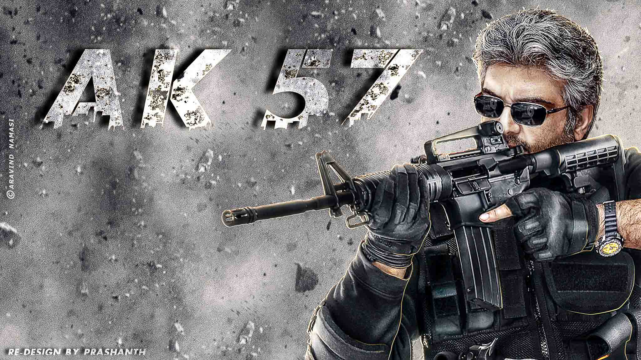 AK 57 shoot to wrap up before Christmas