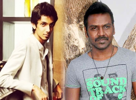 Anirudh's power-packed song for Raghava Lawrence